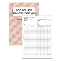 Dodací list-Daňový doklad PT 150 - propisující, A4, 50 listů