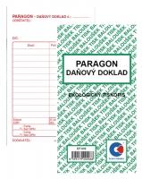 Paragon-Daňový doklad ET 010 - 80x150 mm, 50 listů