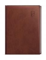 Denní diář Adam-vivella - B6, hnědý