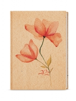 Denní diář Adam-lamino - B6, květina