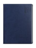 Denní diář Goliáš-vivella - A4, modrý