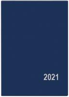 Měsíční diář Anežka-PVC - kapesní, modrý