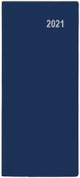 Měsíční diář Božka-PVC - kapesní, modrý