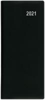Měsíční diář Božka-PVC - kapesní, černý