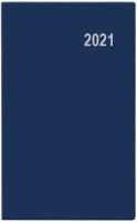 Měsíční diář Diana-PVC - 9x17 cm, modrý