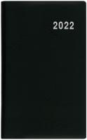 Měsíční diář Diana-PVC - kapesní, černý