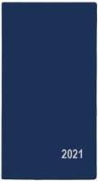 Měsíční diář Františka-PVC - kapesní, modrý