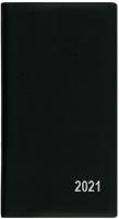 Měsíční diář Františka-PVC - kapesní, černý