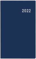 Měsíční diář Marika-PVC - kapesní, modrý