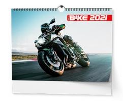 Nástěnný obrázkový kalendář - Motorbike, A3, měsíční