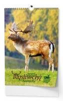 Nástěnný obrázkový kalendář - Myslivecký, A3, měsíční