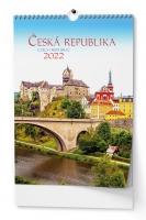 Nástěnný obrázkový kalendář - Česká republika, A3, měsíční