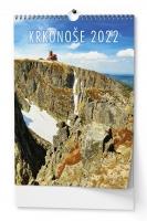 Nástěnný obrázkový kalendář - Krkonoše, A3, měsíční