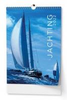 Nástěnný obrázkový kalendář - Jachting, A3, měsíční