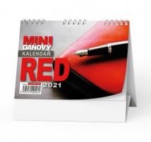 Stolní daňový kalendář - Red, týdenní