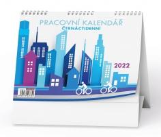 Stolní pracovní kalendář - Pracovní, čtrnáctidenní
