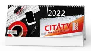 Stolní pracovní kalendář - Citáty I, týdenní