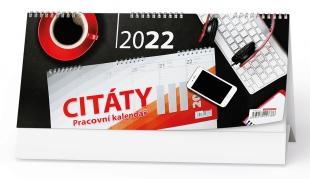 Stolní pracovní kalendář - Citáty III, týdenní