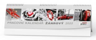 Stolní pracovní kalendář - Žánrový, týdenní