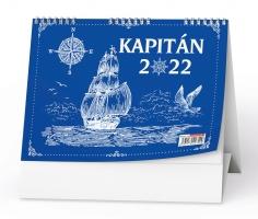 Stolní pracovní kalendář - Kapitán, týdenní