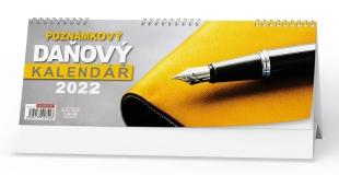Stolní daňový kalendář - Poznámkový, týdenní