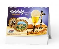 Stolní obrázkový kalendář - Katolický, týdenní