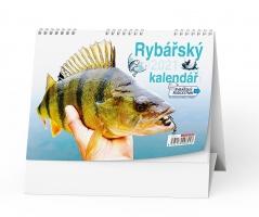 Stolní obrázkový kalendář - Rybář, týdenní