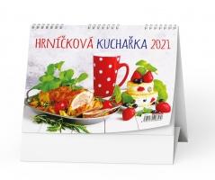Stolní obrázkový kalendář - Hrníčková kuchařka, týdenní