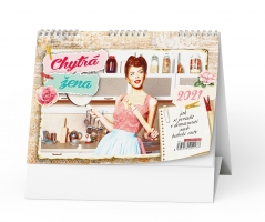 Stolní obrázkový kalendář - Chytrá žena, týdenní