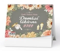 Stolní obrázkový kalendář - Domácí lékarna (Renaty Raduševy Herber), tydenní
