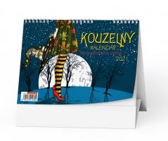 Stolní obrázkový kalendář - Kouzelný, týdenní