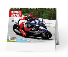Stolní obrázkový kalendář - Motorbike, týdenní