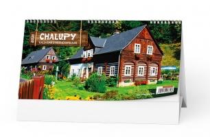 Stolní obrázkový kalendář - Chalupy, čtrnáctidenní