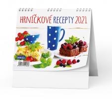 Stolní obrázkový kalendář - Levné hrníčkové recepty, týdenní