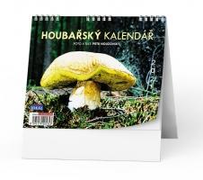 Stolní obrázkový kalendář - Houbařský, týdenní