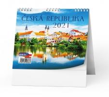 Stolní obrázkový kalendář - Česká republika, týdenní