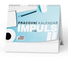 Stolní pracovní kalendář - Impuls II, týdenní