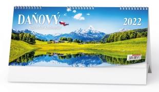 Stolní daňový kalendář - CZ/SK, týdenní