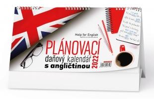 Stolní daňový kalendář - Business I. s angličtinou, týdenní