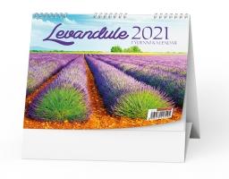 Stolní obrázkový kalendář - Levandule, týdenní