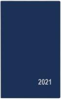 Týdenní diář Alois-PVC - kapesní, modrý