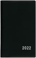 Týdenní diář Alois-PVC - kapesní, černý