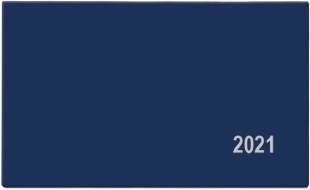 Týdenní diář Cyril-PVC - kapesní, modrý