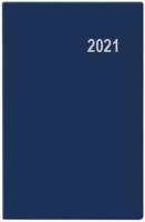 Týdenní diář Gustav-PVC - kapesní, modrý