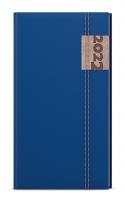 Týdenní diář Jakub-denim - kapesní, modrý