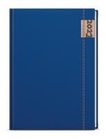 Týdenní diář Oskar-denim - A5, modrý - VYPRODÁNO