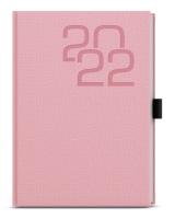 Týdenní diář Oskar-fabric - A5, růžový