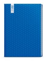 Týdenní diář Oskar-lamino - A5, modrý