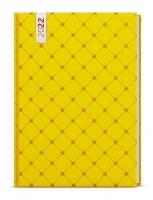 Týdenní diář Oskar-lamino - A5, žlutý