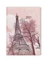 Týdenní diář Oskar-lamino - A5, Eiffelovka